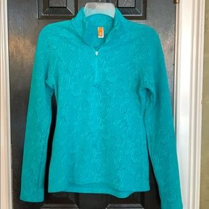Lucy size small pullover athletic jacket shirt